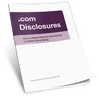 FTC Disclosure for Affiliates